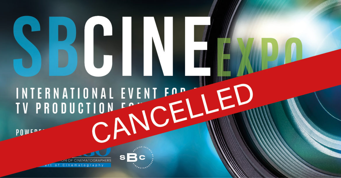 EXPO SBCINE Brussels cancelled