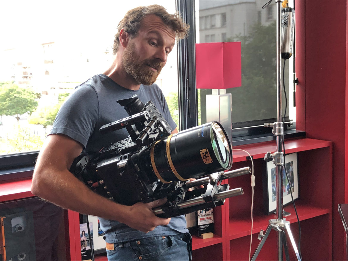 Christophe Nuyens SBC, ALEXA Mini LF and Technovision 1.5x Anamorphic